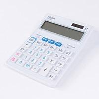 税率W表示電卓(大型) DT980TXW
