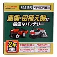 【オンラインショップ限定】農機・田植え機用バッテリー 30A19R【別送品】