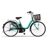 【自転車】【全国配送】《YAMAHA》電動PASナチュラM 26インチ ターコイズ【別送品】