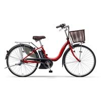 【自転車】【全国配送】《YAMAHA》電動PASナチュラM 26インチ リッチレッド【別送品】