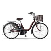 【自転車】【全国配送】《YAMAHA》電動PASナチュラM 24インチ カラメルブラウン【別送品】