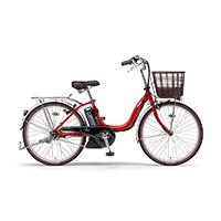 【自転車】《ヤマハ》PAS SION-U 24型(レッド)