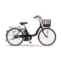 【自転車】《ヤマハ》PAS SION-U 24型(ブラウン)