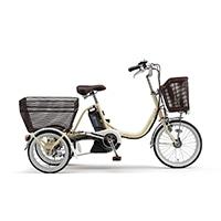【自転車】《ヤマハ》PASワゴン(アイボリー)