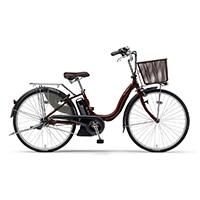 【自転車】《ヤマハ》20年モデル 電動アシスト自転車 PAS Cheer パス チア 26インチ カカオ