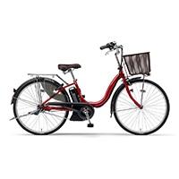 【自転車】《ヤマハ》20年モデル 電動アシスト自転車 PAS Cheer パス チア 26インチ ダークメタリックレッド