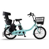 【自転車】《ヤマハ》20年モデル 電動アシスト自転車 PAS Babby un SP パス バビー アン スーパー リヤチャイルドシート標準装備 ミントブルー