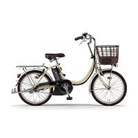 【自転車】《ヤマハ》電動アシスト自転車 PAS SION-U パス シオンユー 20インチ  アイボリー 20年モデル