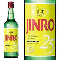 JINRO 25度 700ml【別送品】