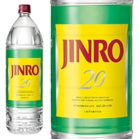 JINRO 20度 1800ml【別送品】