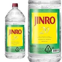 JINRO 20度 4.0Lペット【別送品】