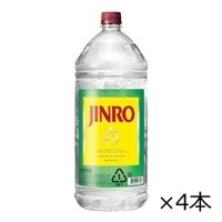 【ケース販売】JINRO 25度 4.0Lペット×4本【別送品】