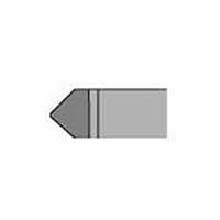 【CAINZ DASH】三和 超硬バイト 35形 10×10×80 P20 P20