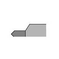 【CAINZ DASH】三和 超硬バイト 13形 25×25×180 M20 M20