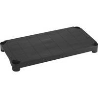 【CAINZ DASH】TRUSCO プラ棚用 棚板 900X450 黒