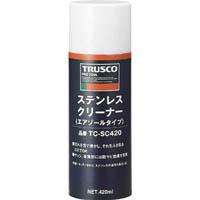 【CAINZ DASH】TRUSCO ステンレスクリーナー 420ml