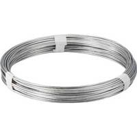 【CAINZ DASH】TRUSCO スチール針金 線径4.0mm 1kg