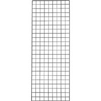 【CAINZ DASH】TRUSCO 棚用ディスプレイネット 金具付 450X1200 黒