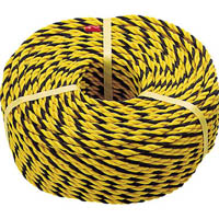 【CAINZ DASH】TRUSCO 標識ロープ 3つ打 線径10mmX長さ50m