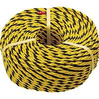【CAINZ DASH】TRUSCO 標識ロープ 3つ打 線径7.5mmX長さ100m