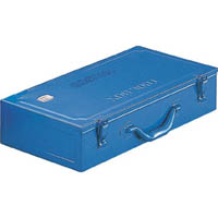 【CAINZ DASH】TRUSCO トランク工具箱 470X234X108 ブルー