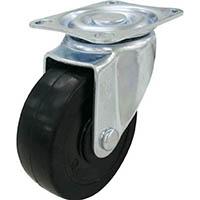 【CAINZ DASH】ユーエイ キャスター自在車 ハードゴム車輪径50