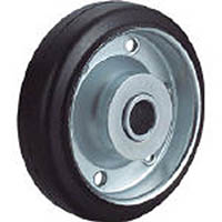 【CAINZ DASH】ユーエイ 車輪 130径ゴム車輪(穴径20)