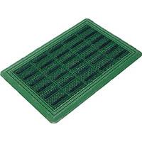 【CAINZ DASH】コンドル (屋外用マット)エバックブラシハードマットYL #3 緑