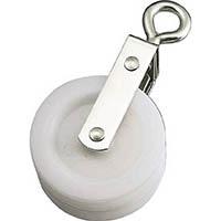【CAINZ DASH】水本 ナイロンプーリー 使用ロープ径φ〜9mm (1個=1袋)