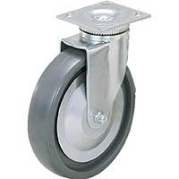 【CAINZ DASH】スガツネ工業 重量用キャスター径127自在SE(200−133−381)