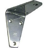 【CAINZ DASH】スガツネ工業 ステンレス製アングル棚受SV型鏡面仕上40(120−030−056