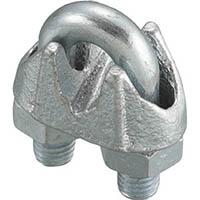 【CAINZ DASH】ニッコウ ワイヤークリップ(鋳鉄製) (2個入)