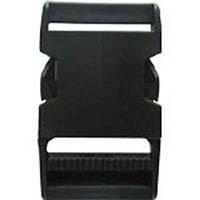 【CAINZ DASH】ユタカメイク 金具 Aバックル A38×L73 ブラック