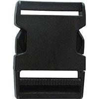 【CAINZ DASH】ユタカメイク 金具 Aバックル A50×L78 ブラック