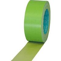 スリオン 養生用布粘着テープ 50mm×25m ライトグリーン