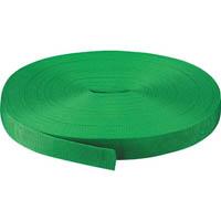 【CAINZ DASH】TRUSCO PPベルト幅30mmX長さ50m 緑