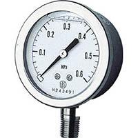 【CAINZ DASH】長野 グリセン入圧力計 A枠立型 Φ60 最小目盛0.005