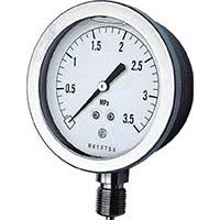 【CAINZ DASH】長野 グリセン入圧力計 A枠立型 Φ75 最小目盛0.005