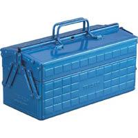 TRUSCO 2段工具箱 350X160X215 ブルー ST350B