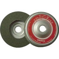 【CAINZ DASH】TRUSCO ソフトパワーディスク Φ100 ウレタン樹脂製中仕上げ研磨用 5入