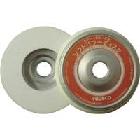 【CAINZ DASH】TRUSCO ソフトパワーディスク Φ100 ウレタン樹脂製仕上げ研磨用 5個入