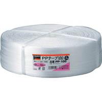 【CAINZ DASH】TRUSCO PPテープ 幅100mmX長さ1000m 白