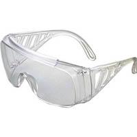 【CAINZ DASH】TRUSCO 一眼型サイド付セーフティグラス 透明