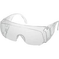 【CAINZ DASH】TRUSCO 一眼型保護メガネ 内メガネ併用型