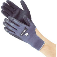 【CAINZ DASH】TRUSCO グリップフィット手袋 天然ゴム Mサイズ