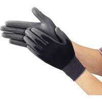 【CAINZ DASH】TRUSCO ウレタンフィット手袋 黒 Lサイズ