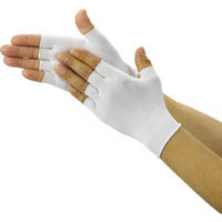【CAINZ DASH】TRUSCO クリーンルーム用インナー手袋ハーフサイズ (10双入)