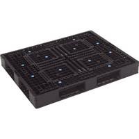 【CAINZ DASH】TRUSCO 樹脂パレット 片面4方差 1400X1100