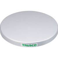 【CAINZ DASH】TRUSCO 回転台 50Kg型 Φ300 スチール天板