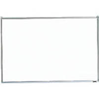 【CAINZ DASH】TRUSCO スチール製ホワイトボード 無地 粉受付 900X1800